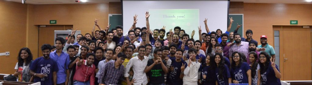 group photo at Startup Weekend Pune