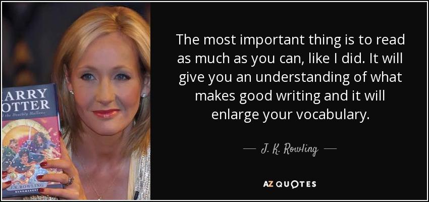 J.K Rowling Best Content Writer