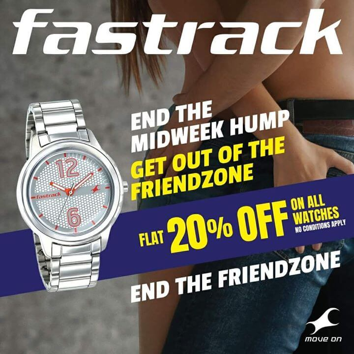 Example of Fastrack Ad
