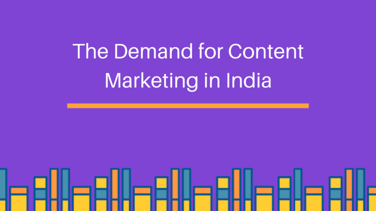 Content marketing in India