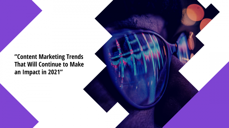 content marketing trends 2021